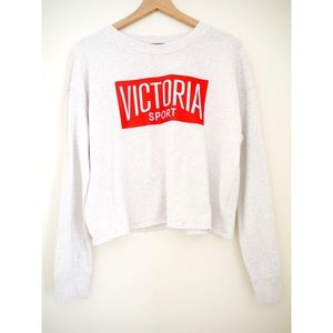 Victoria's Secret Sport Gray Sweatshirt